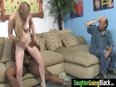young daughter with nice ass fucked by a darksome