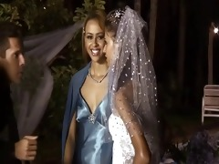 0 father 10 bride 9 belt on maids