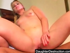 young daughter abased in her mouth and love tunnel